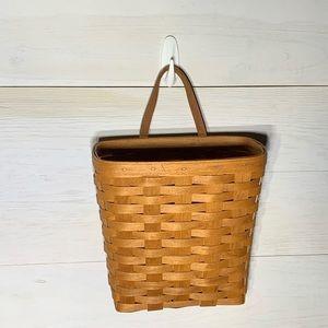 Longaberger hanging wall basket